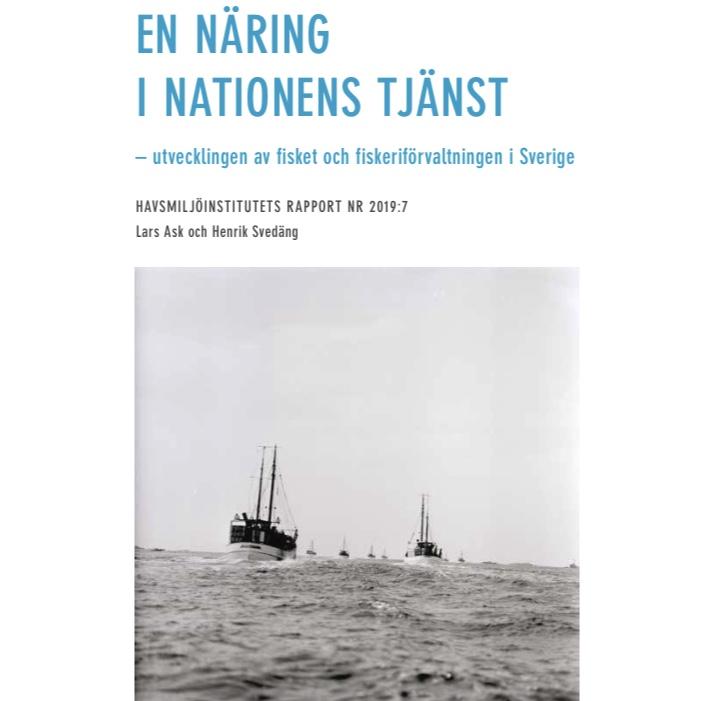 Rapport Havsmiljöinstitutet: En näring i nationens tjänst