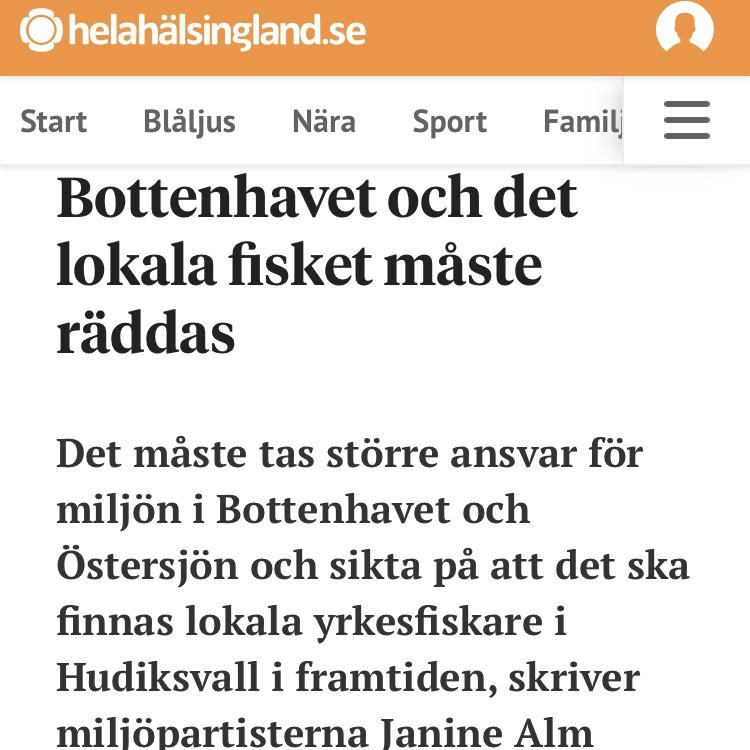 Hela Hälsingland: Bottenhavet och det lokala fisket måste räddas