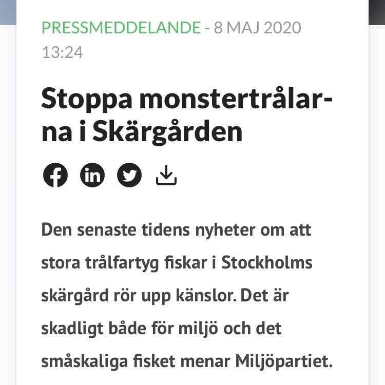 Hela Hälsingland: Är strömming partipolitik?